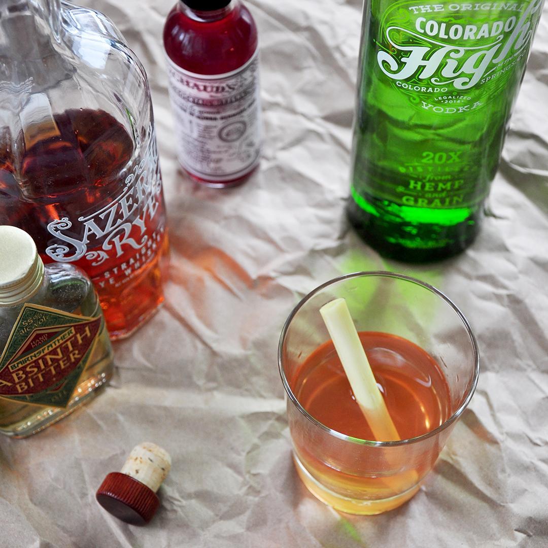 The Grasserac – Sazerac's Hemp Based Cocktail Cousin
