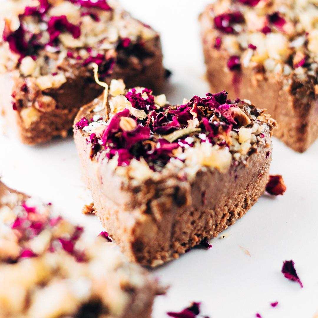 Vegan Chocolate Blender Brownies