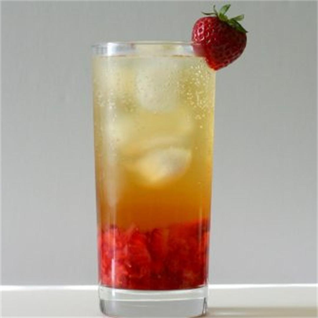 Bubbly Strawberry Jasmine Tea
