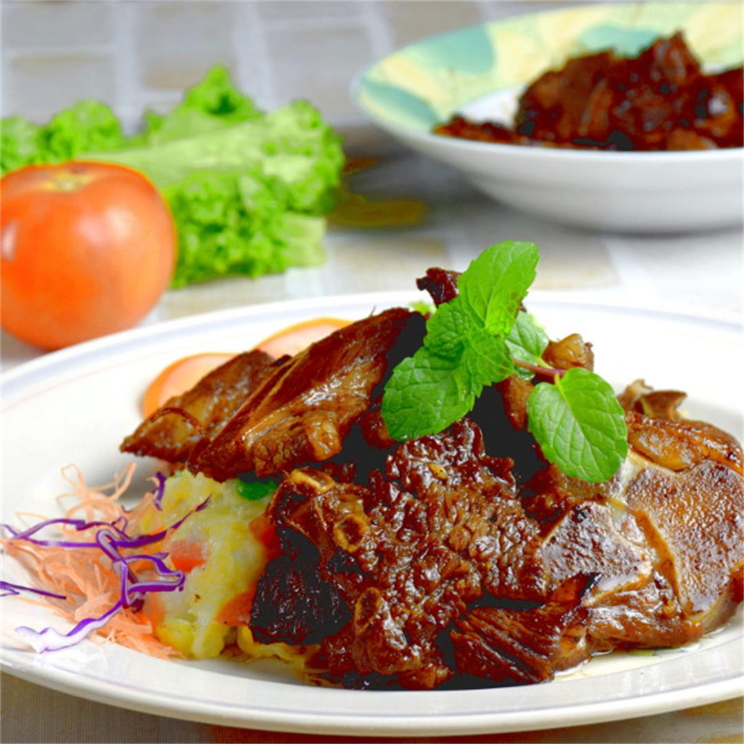 Lamb Cutlets- Chinese Style