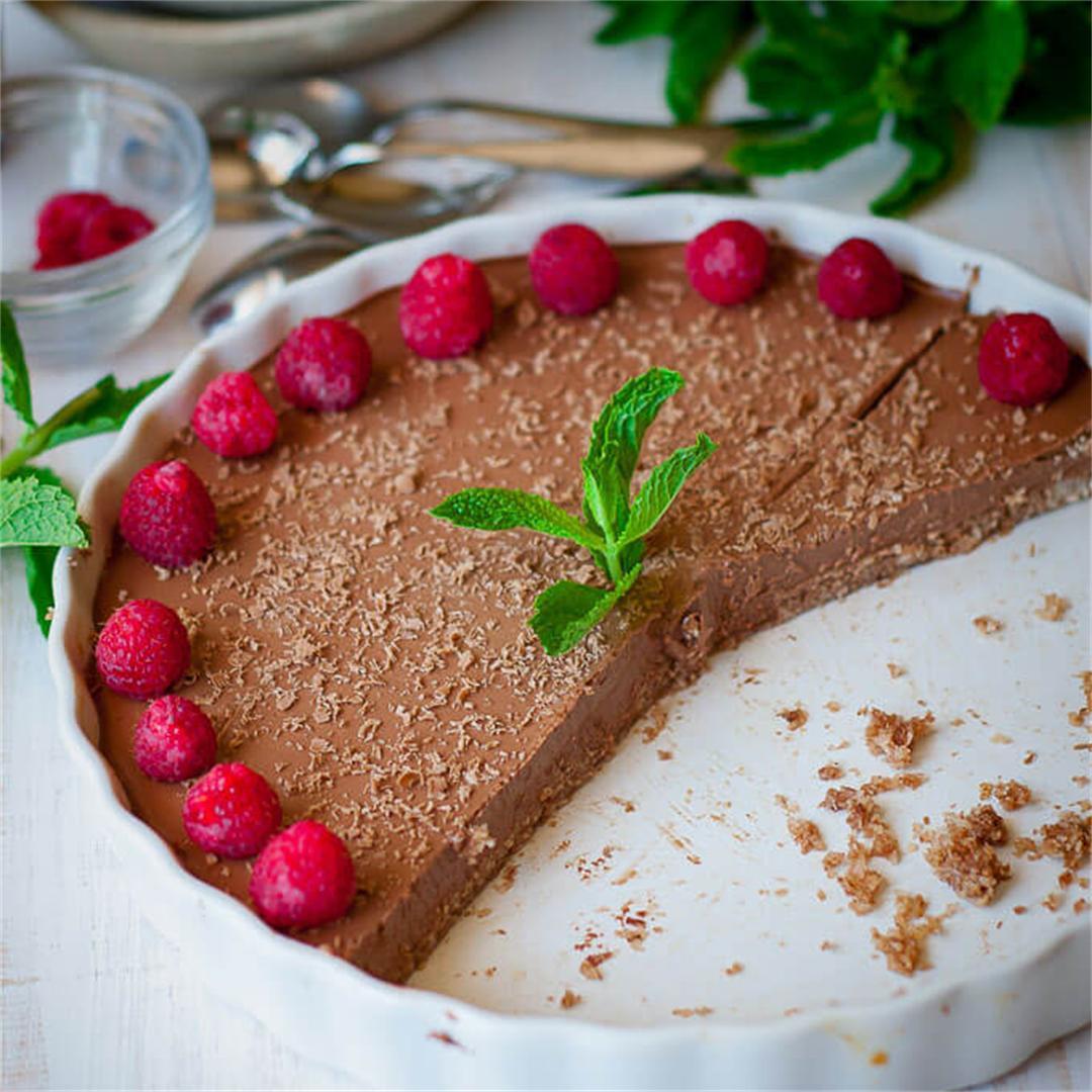 Chilli Chocolate Cheesecake