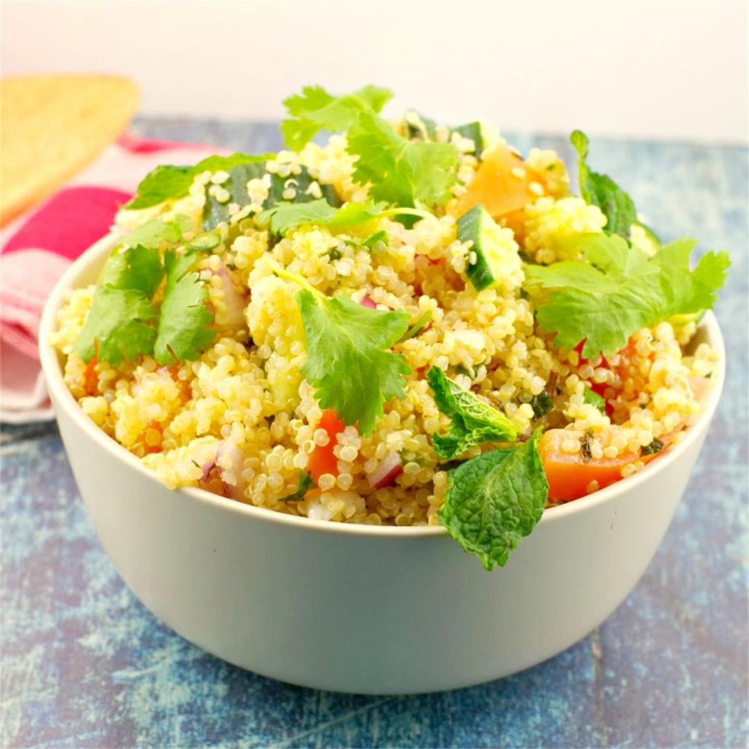 Easy & Healthy Quinoa Salad