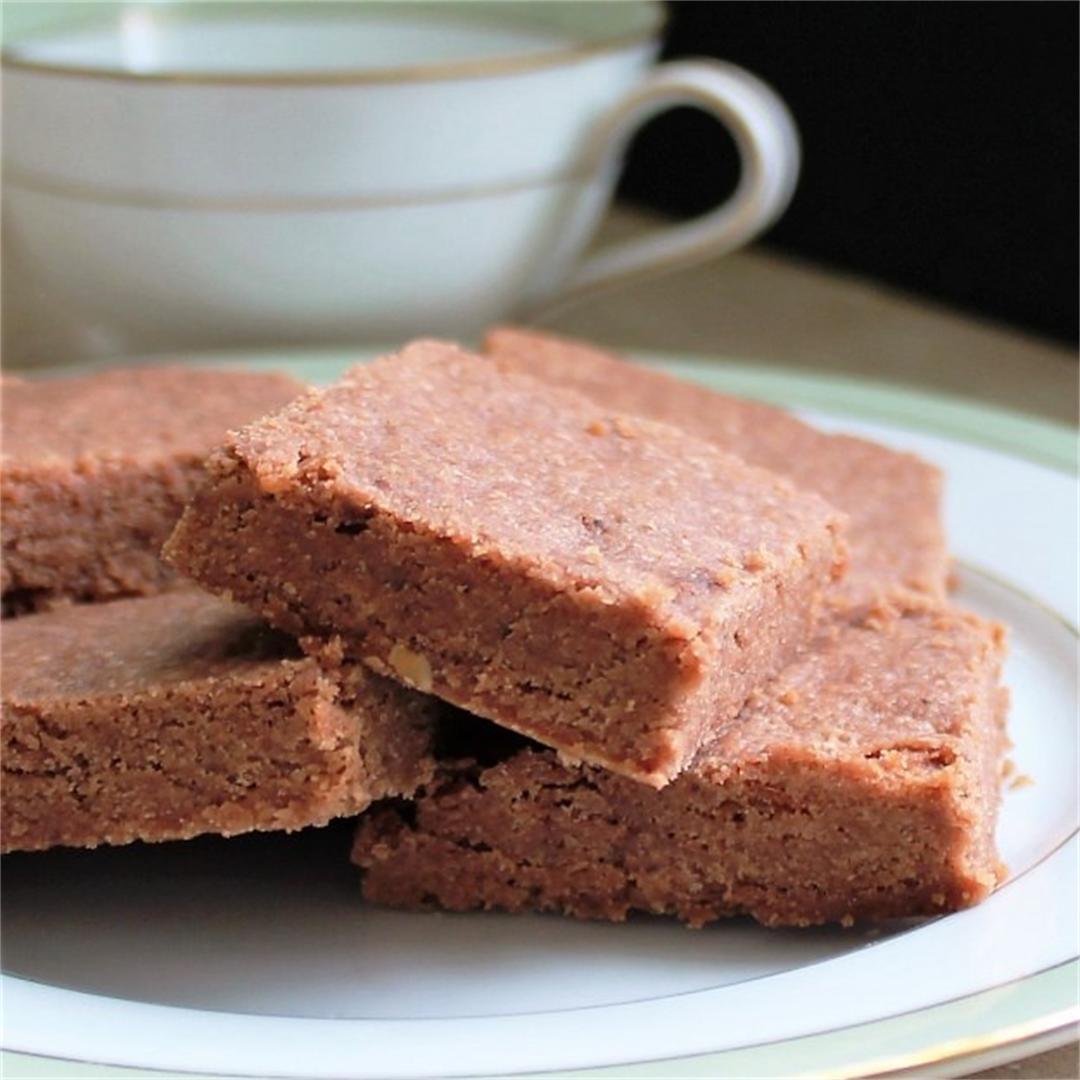 Chocolate Cherry Shortbread