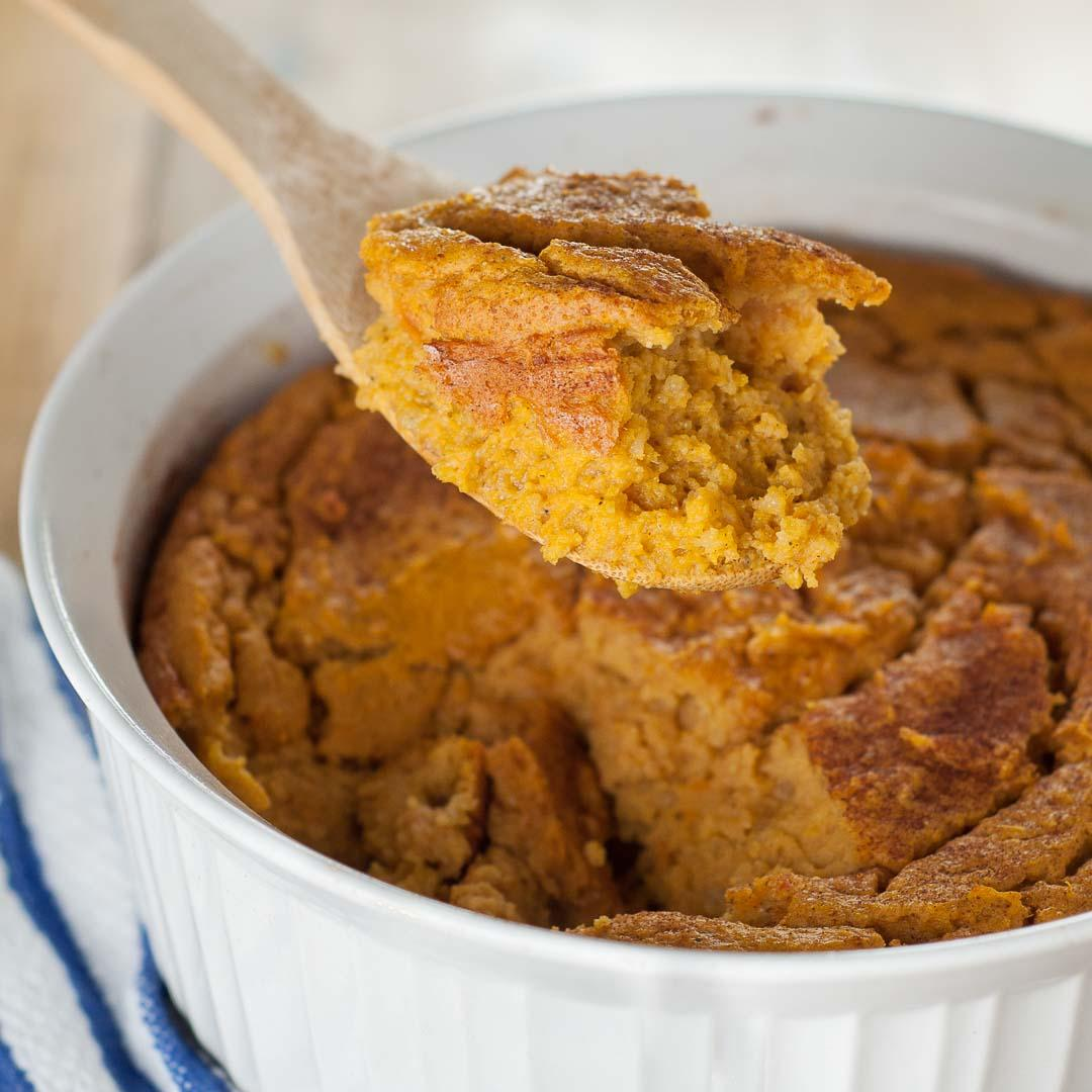 Naturally Gluten Free Sweet Potato Spoon Bread