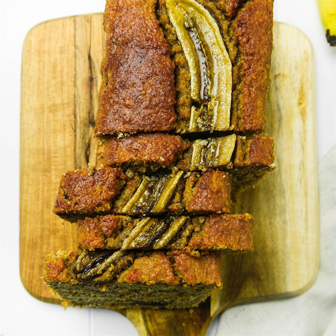 Chocolate Chunk Cinnamon Banana Bread