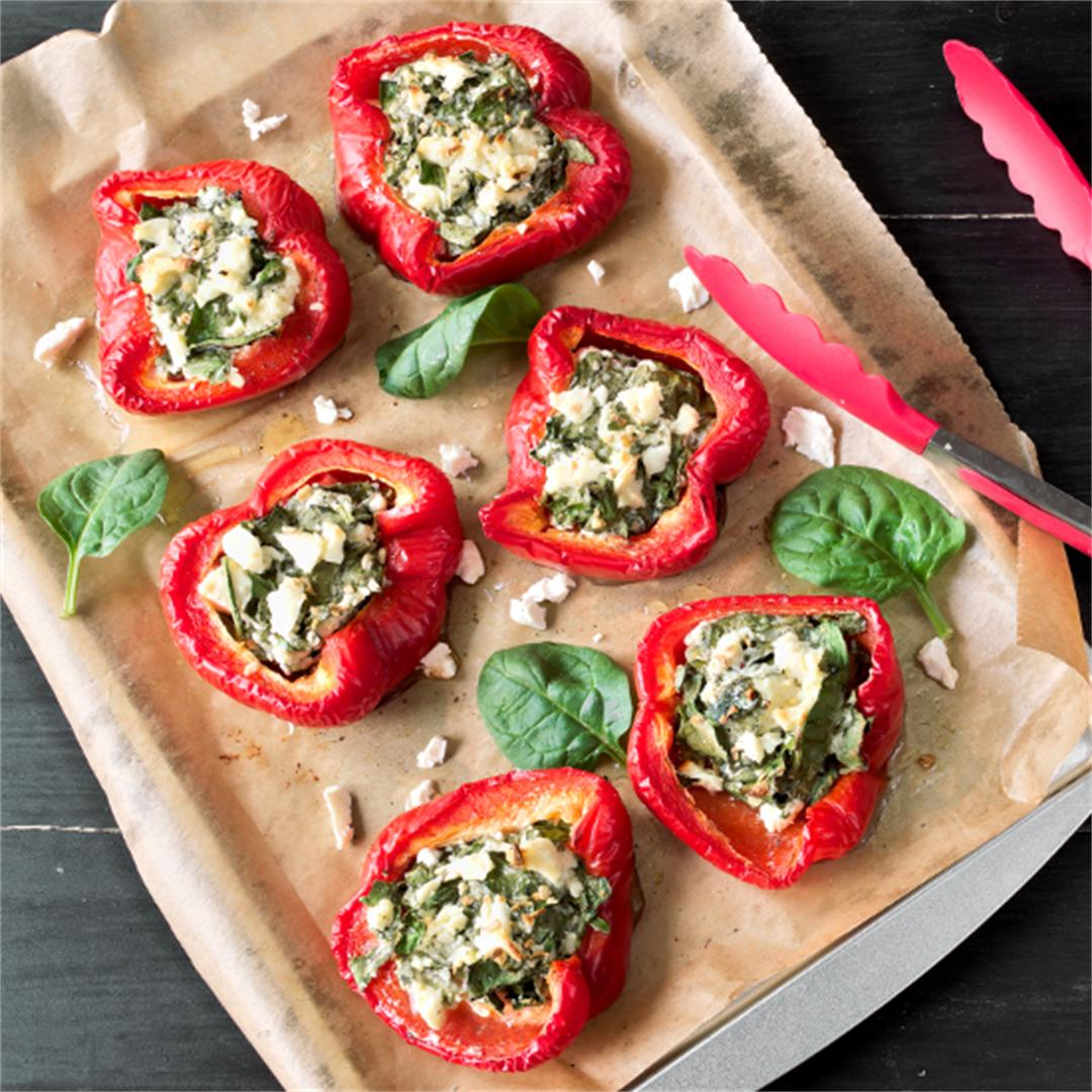 Stuffed peppers - Vegetarian recipe