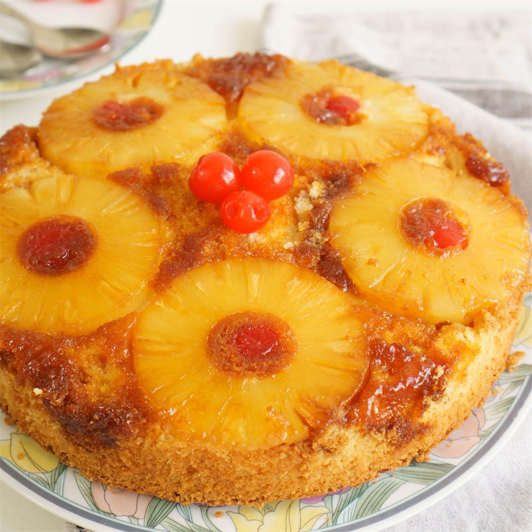 Foolproof Pineapple Upside Down Cake