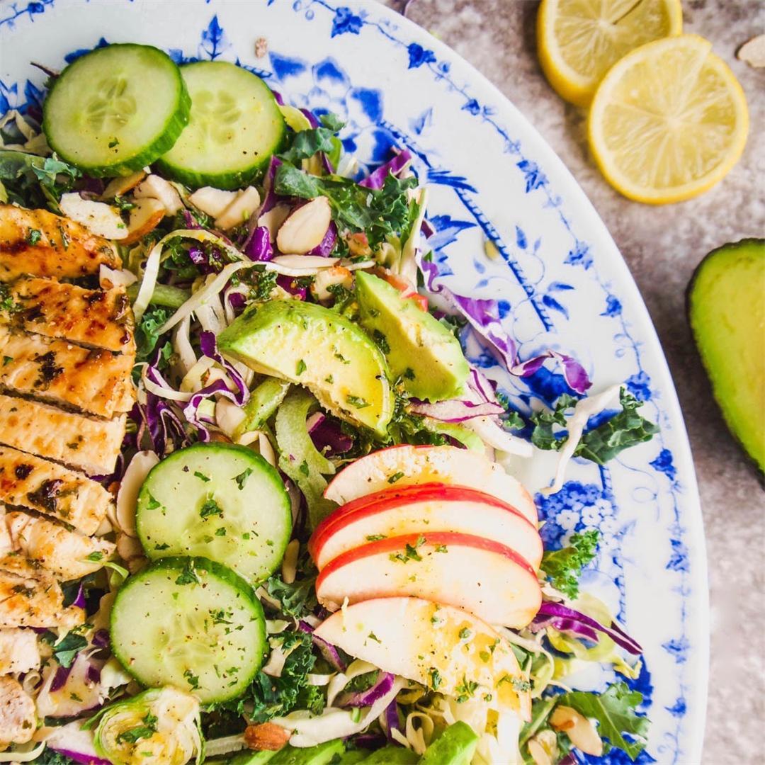 Shredded Cruciferous Salad