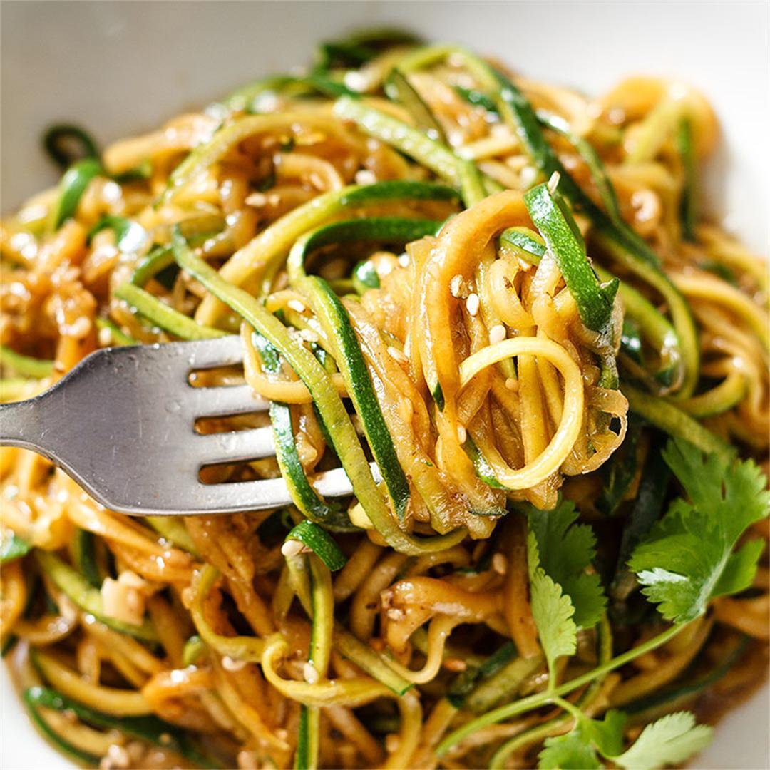 Teriyaki Zucchini Noodles