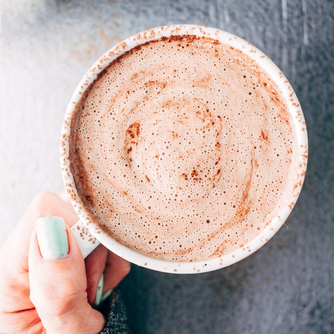 5-Minute Vegan Blender Hot Chocolate