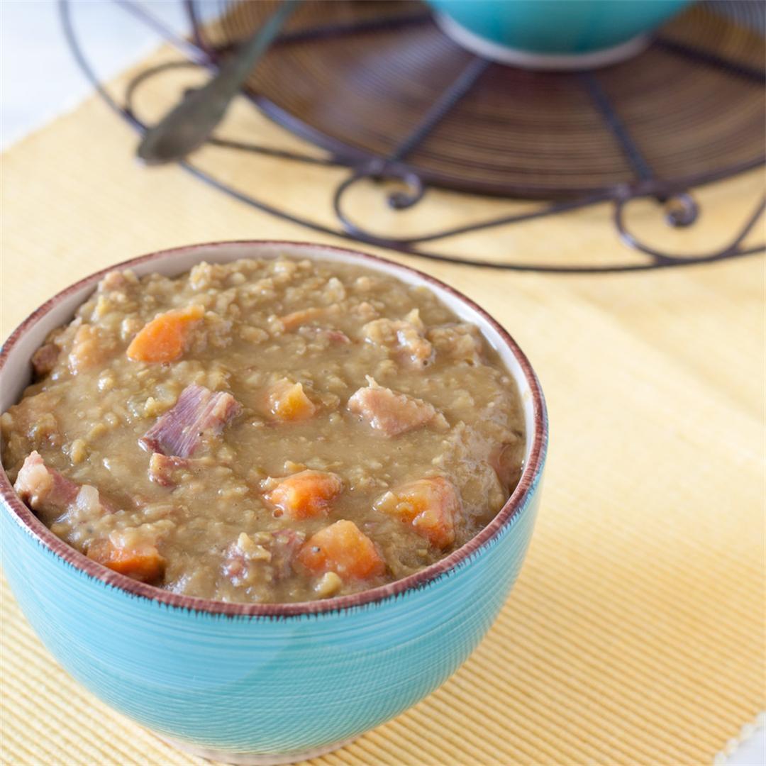 Split Pea Soup – Slow Cooker
