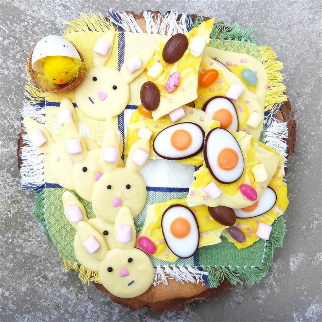 White Chocolate Easter Treats