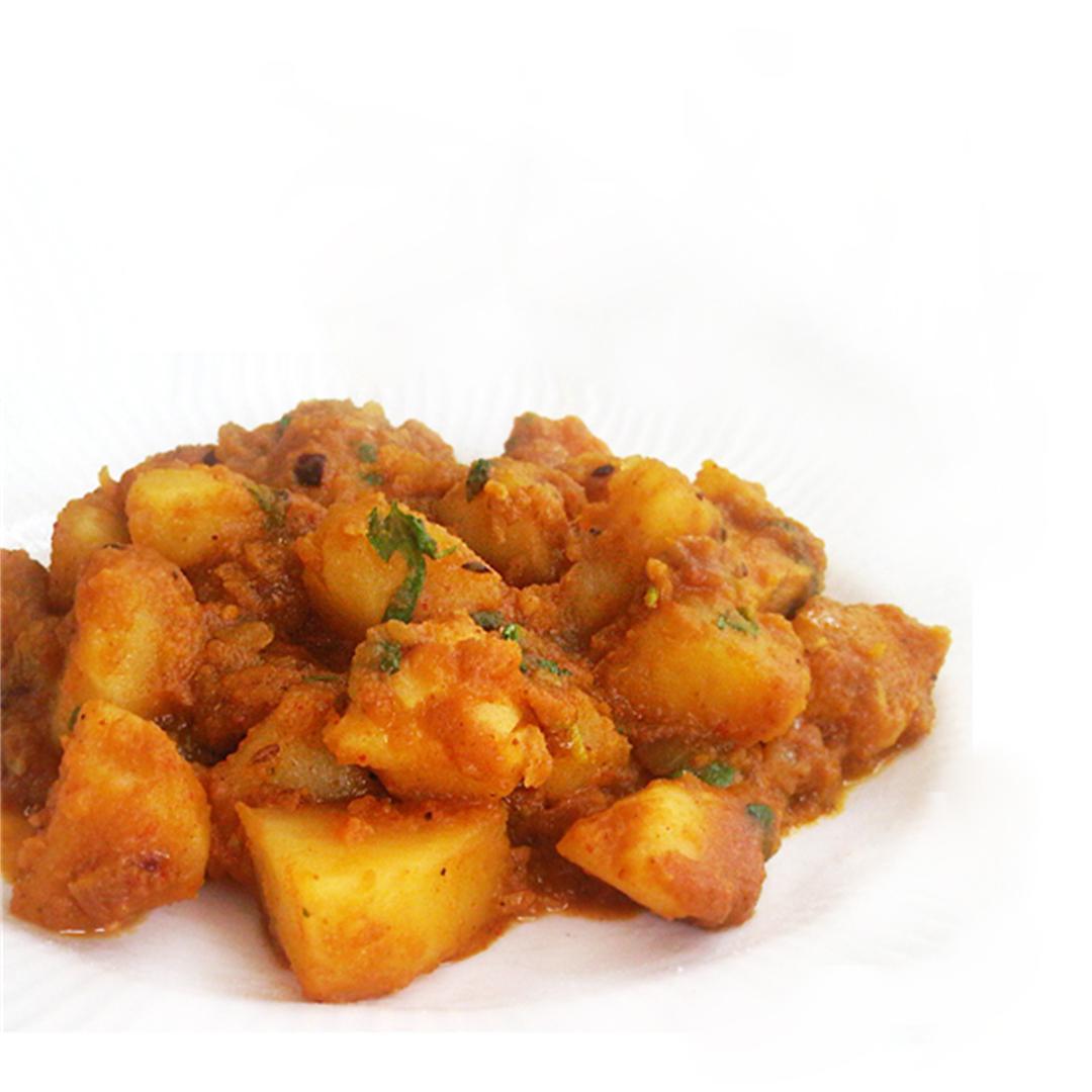 Holi-Special Potato Curry