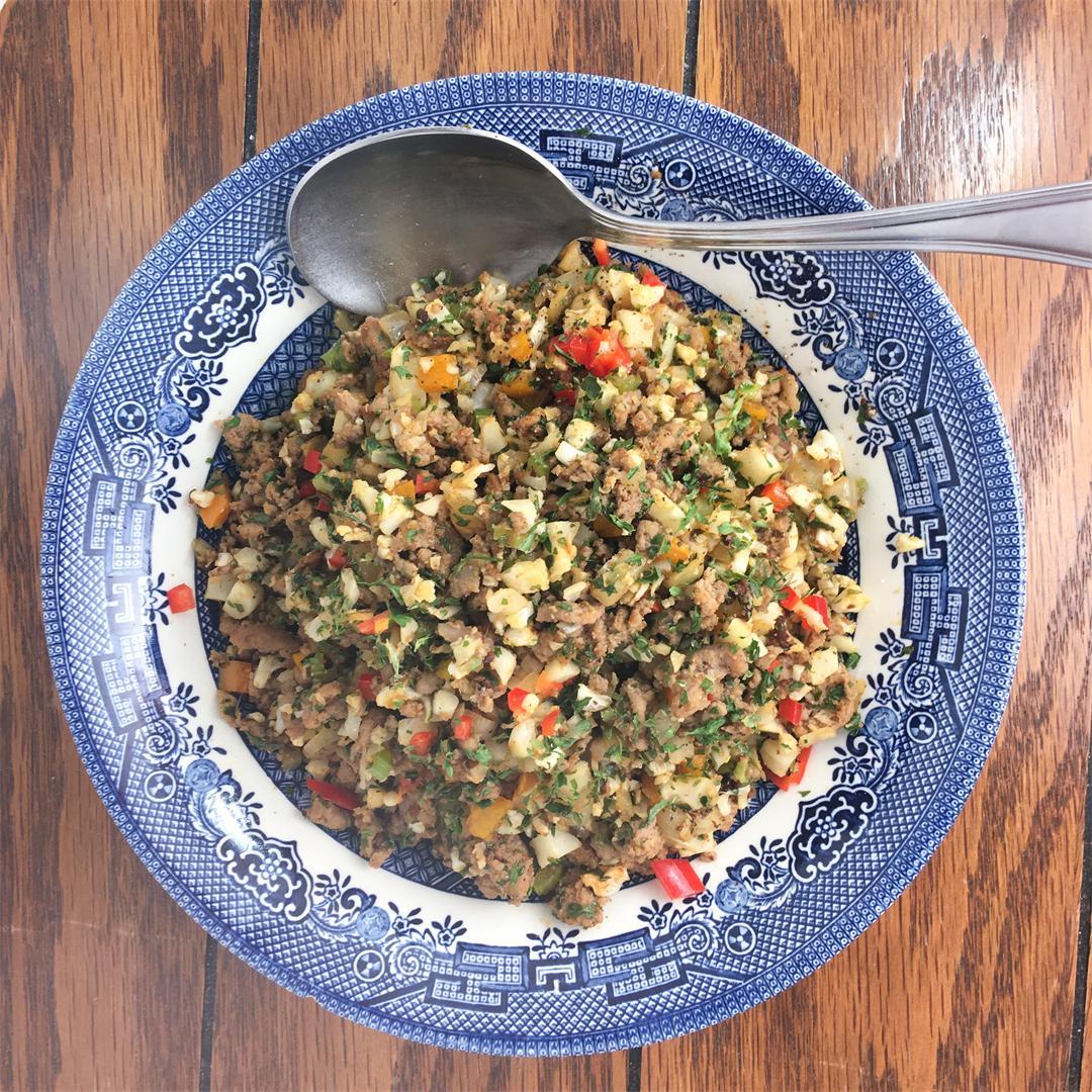 Cauliflower Clean Dirty Rice