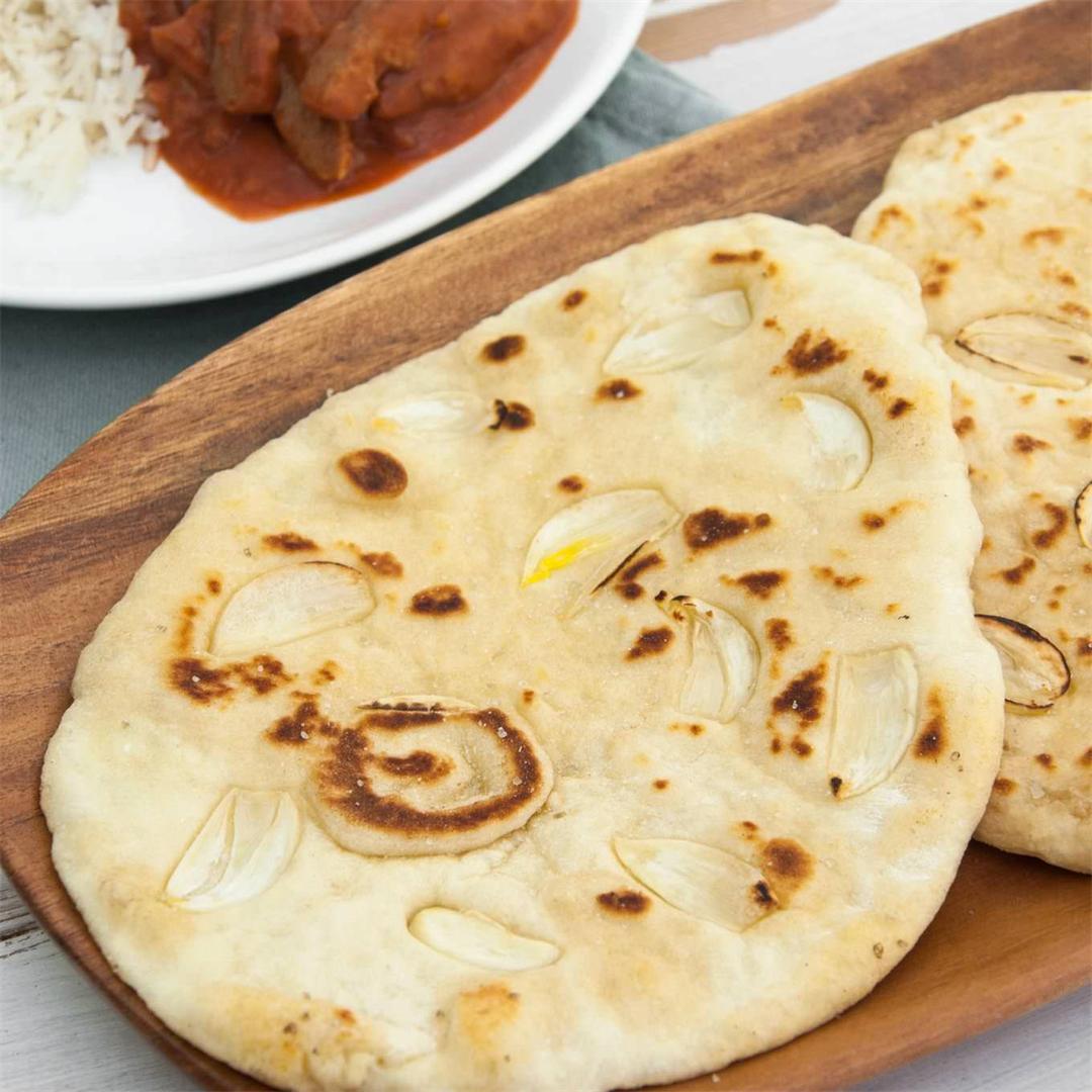 Indian Garlic Naan