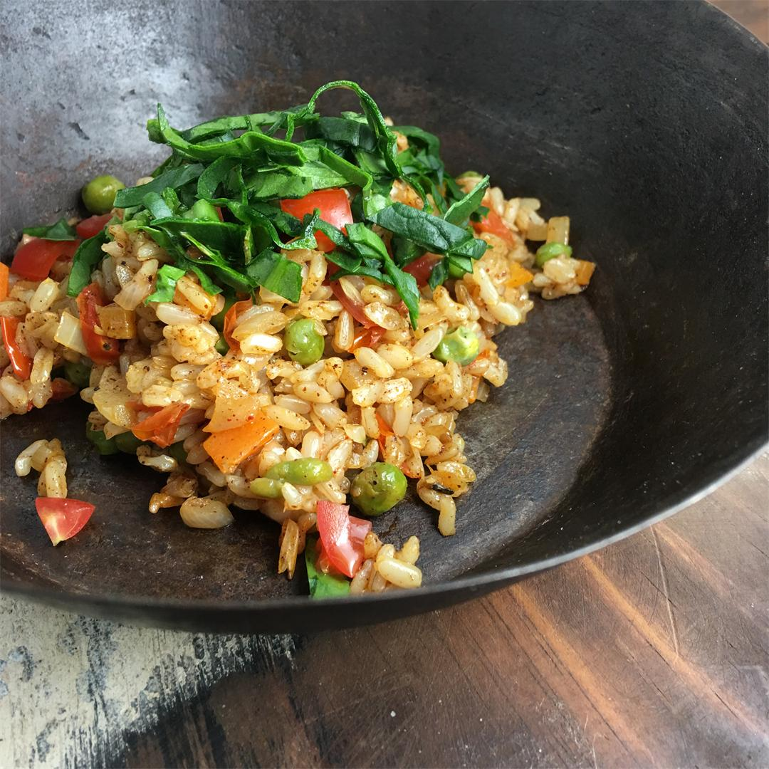 Indian Vegetable Pulao (Rice)