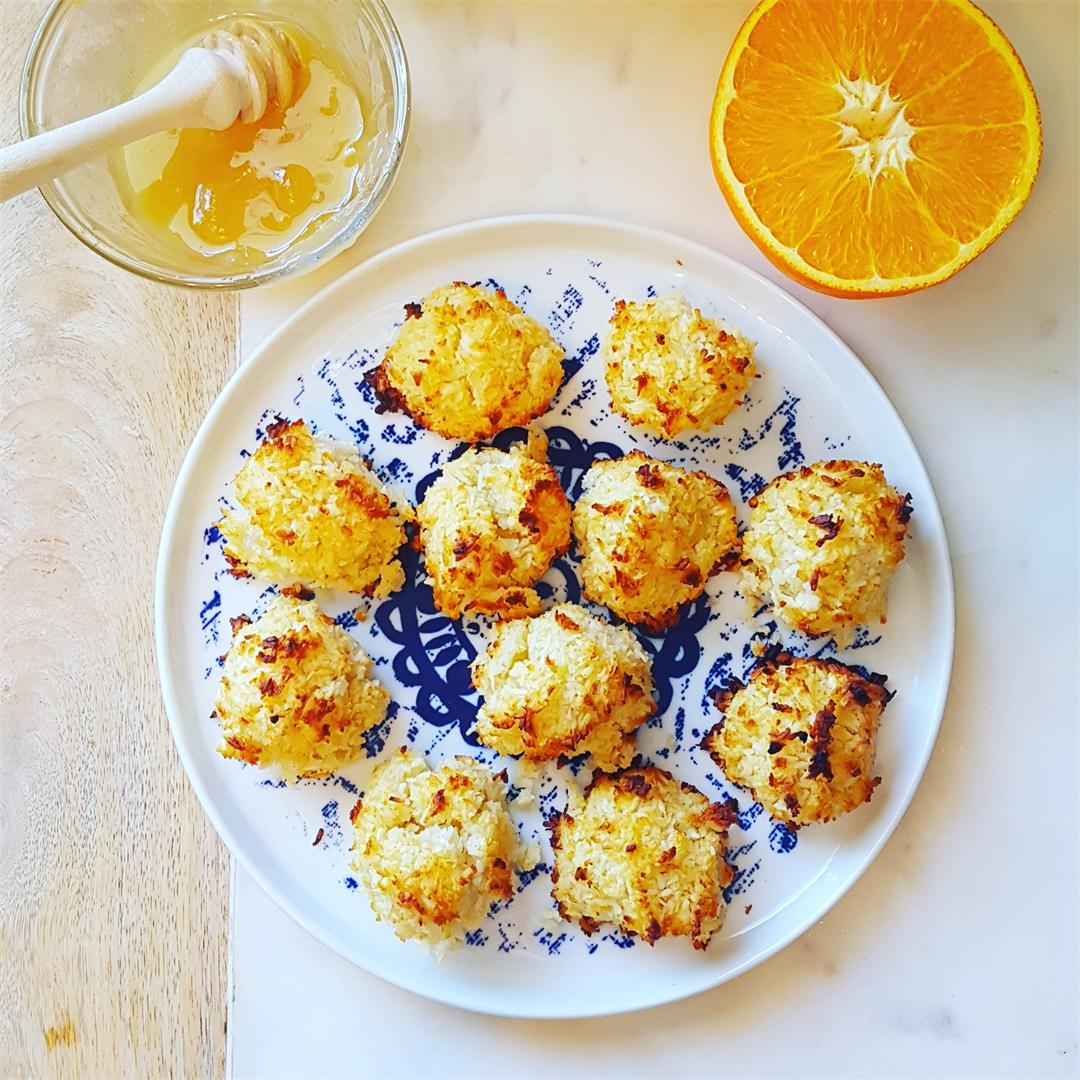 Honey & Orange Infused Macaroons