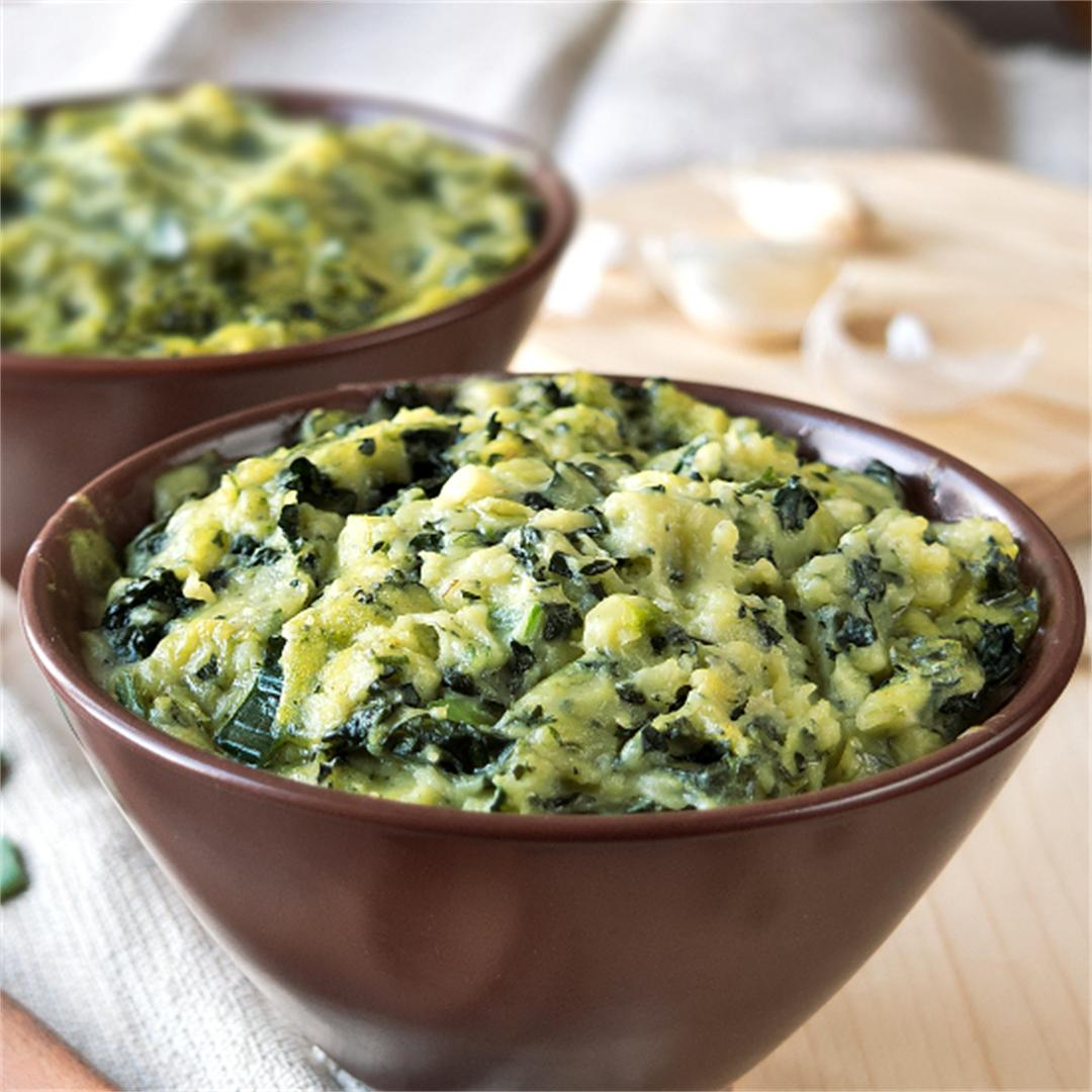 Colcannon – Mashed potatoes – St Patrick's day food