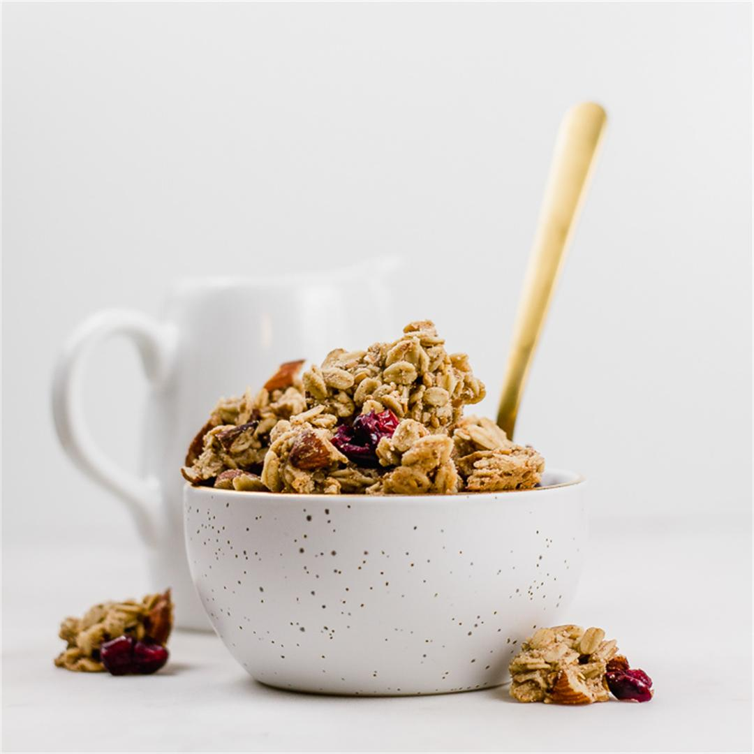 Large-Cluster Cranberry Almond Granola