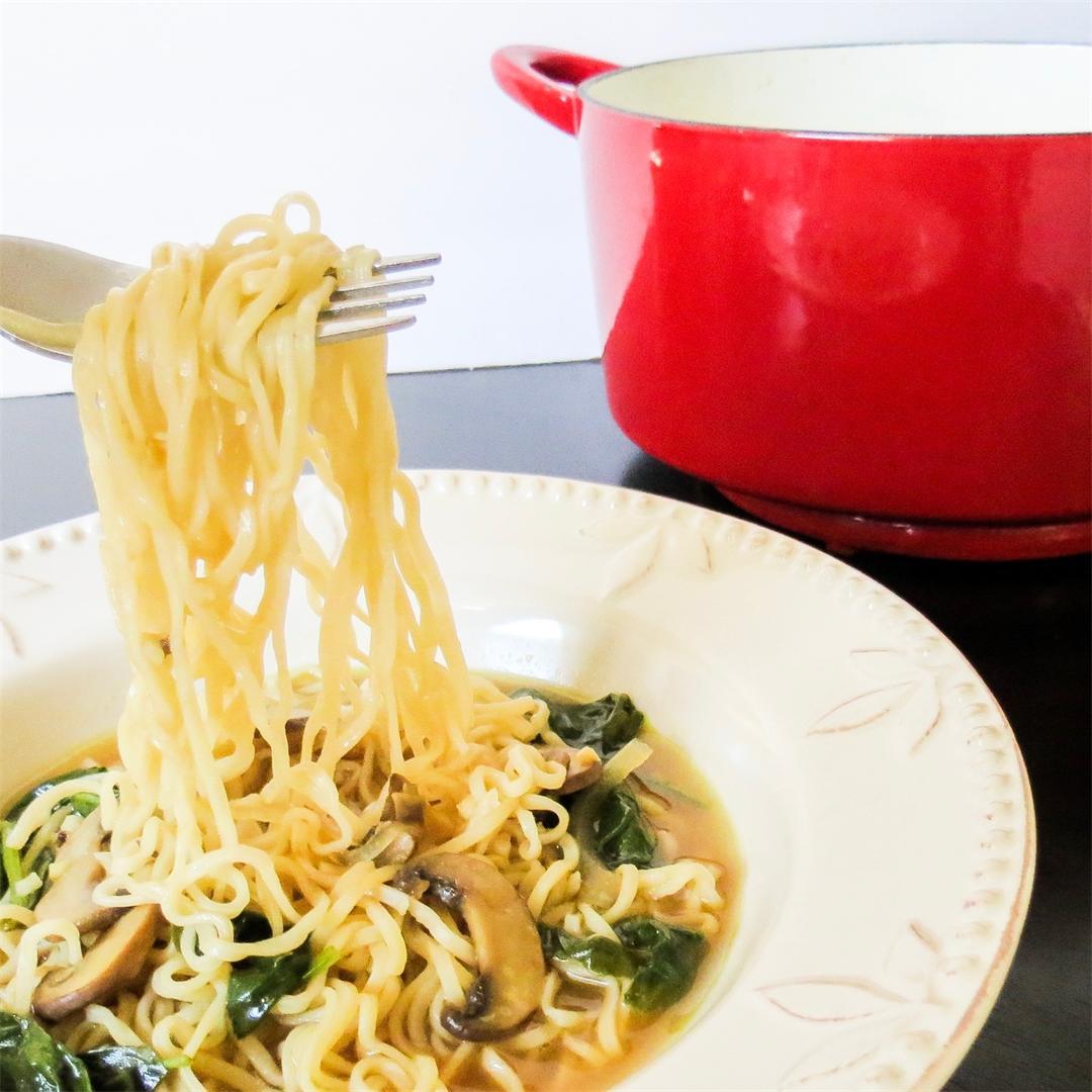 Hot & Sour Vegetable Ramen