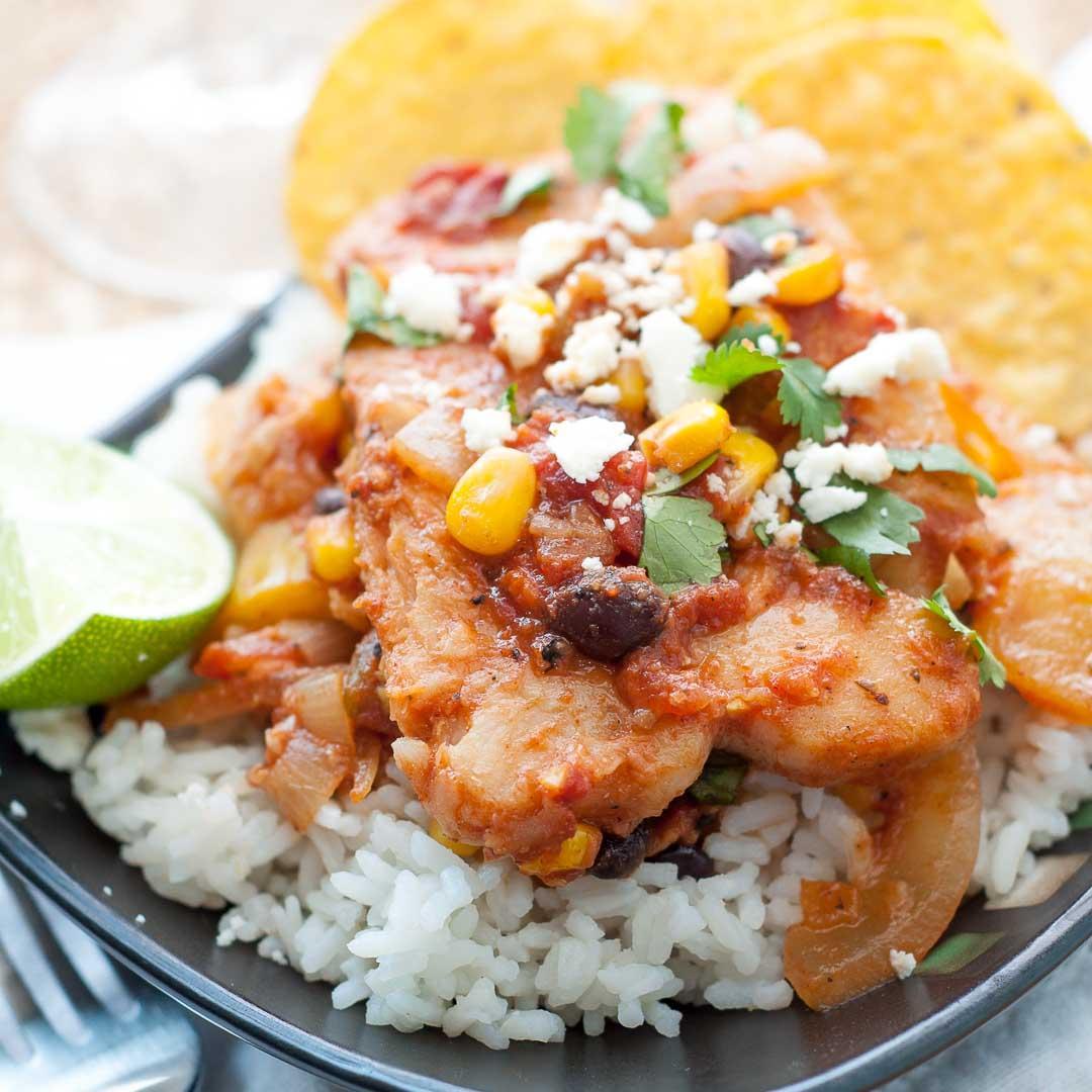 Healthy Weeknight Mexican Pollock Fish