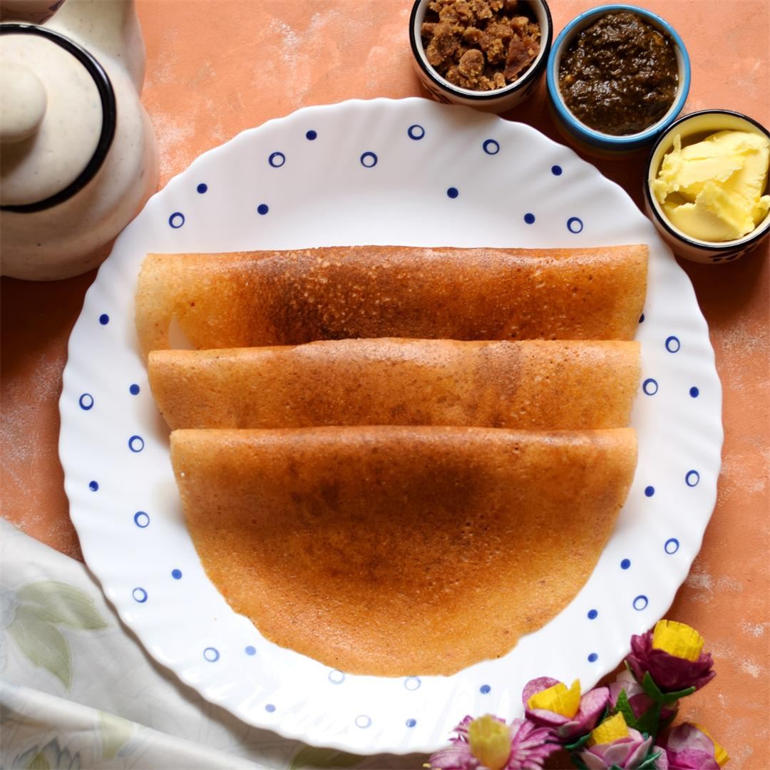 Little Millet Tomato Dosa