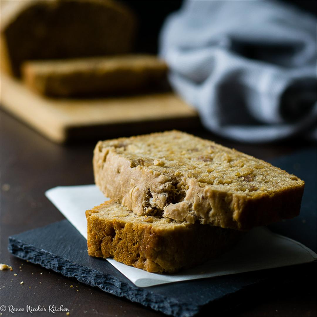 Cheddar Sausage Guinness Beer Bread