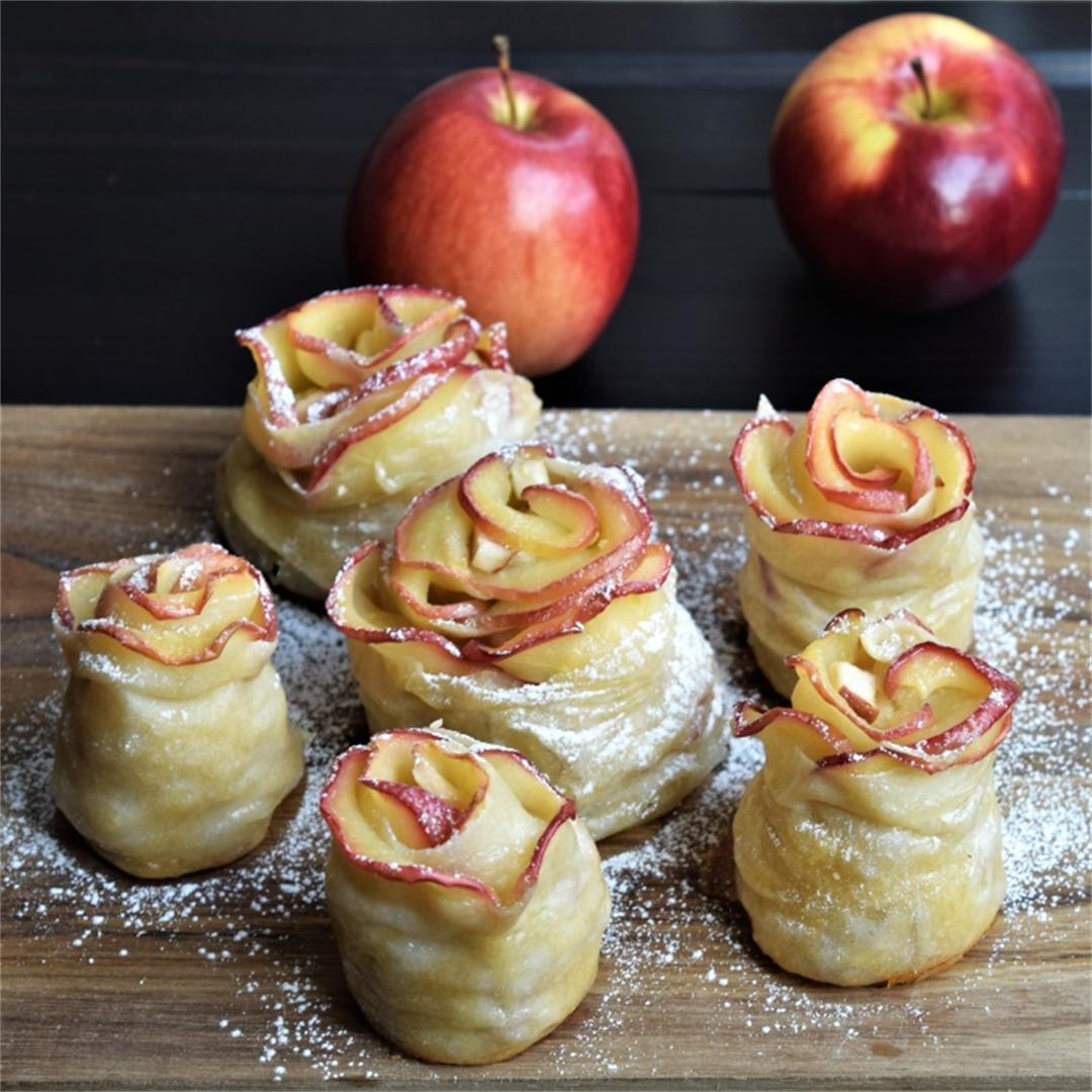 Classic apple strudel with a non-classic look
