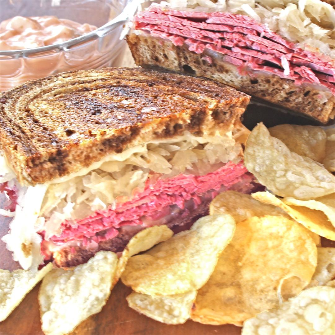 Perfect, Melty Reuben Sandwiches