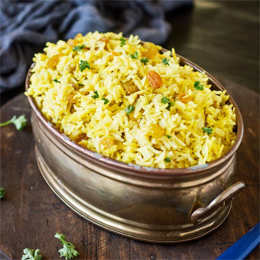 Sultana Yellow Rice with Turmeric & Curry