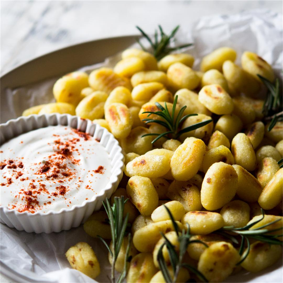 Pan Fried Gnocchi With Rosemary