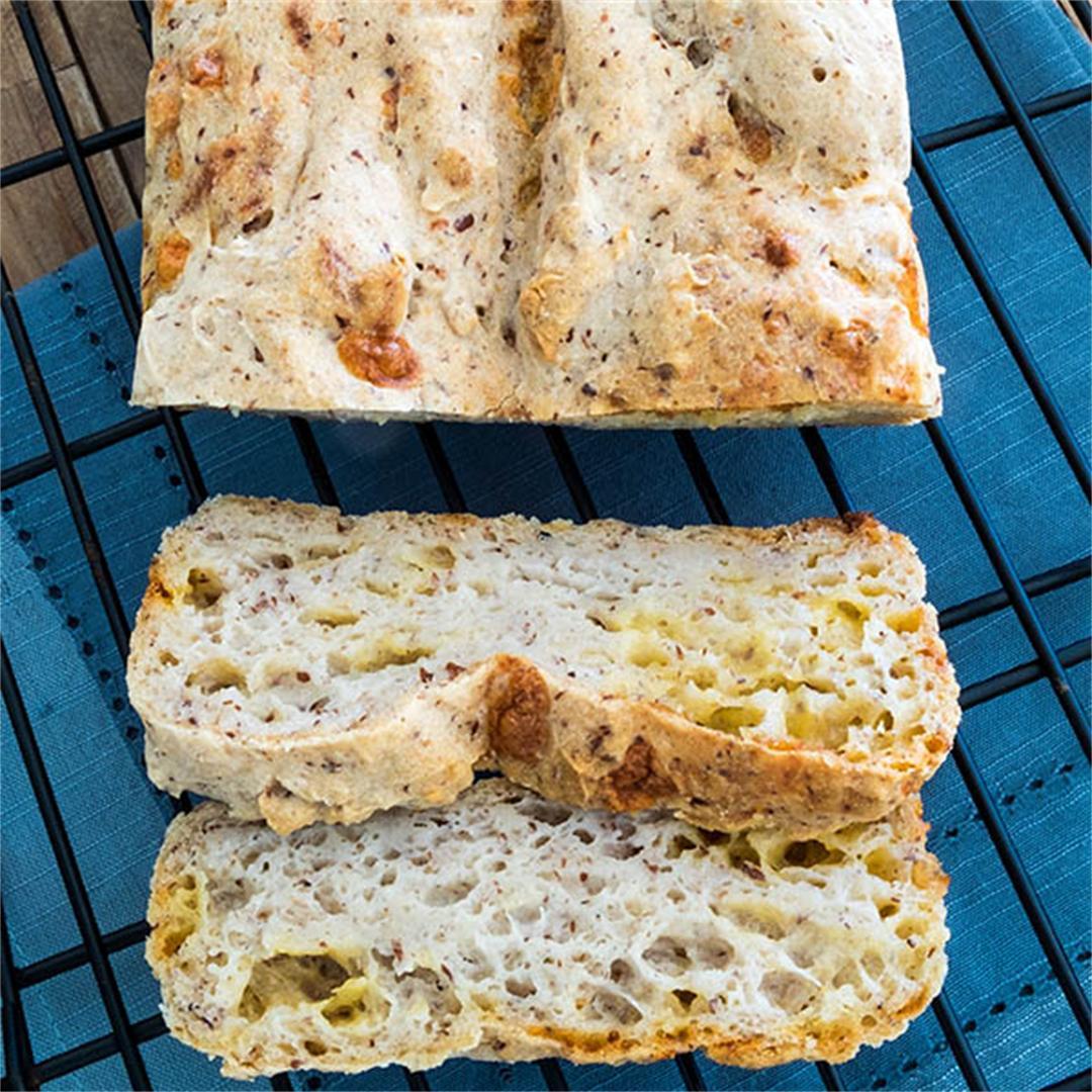 Gluten-Free Olive Oil Cheese Bread