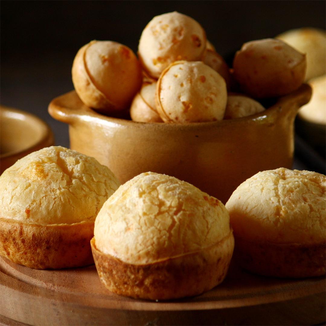 Chipa licuadora - easy gluten free bread