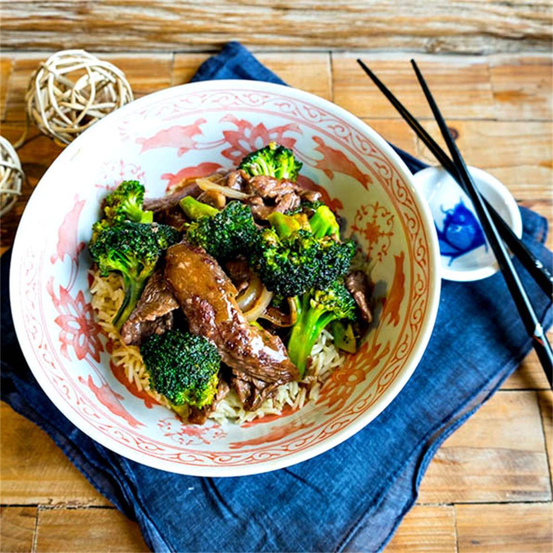 Gluten-Free Beef and Broccoli - Easy Recipe