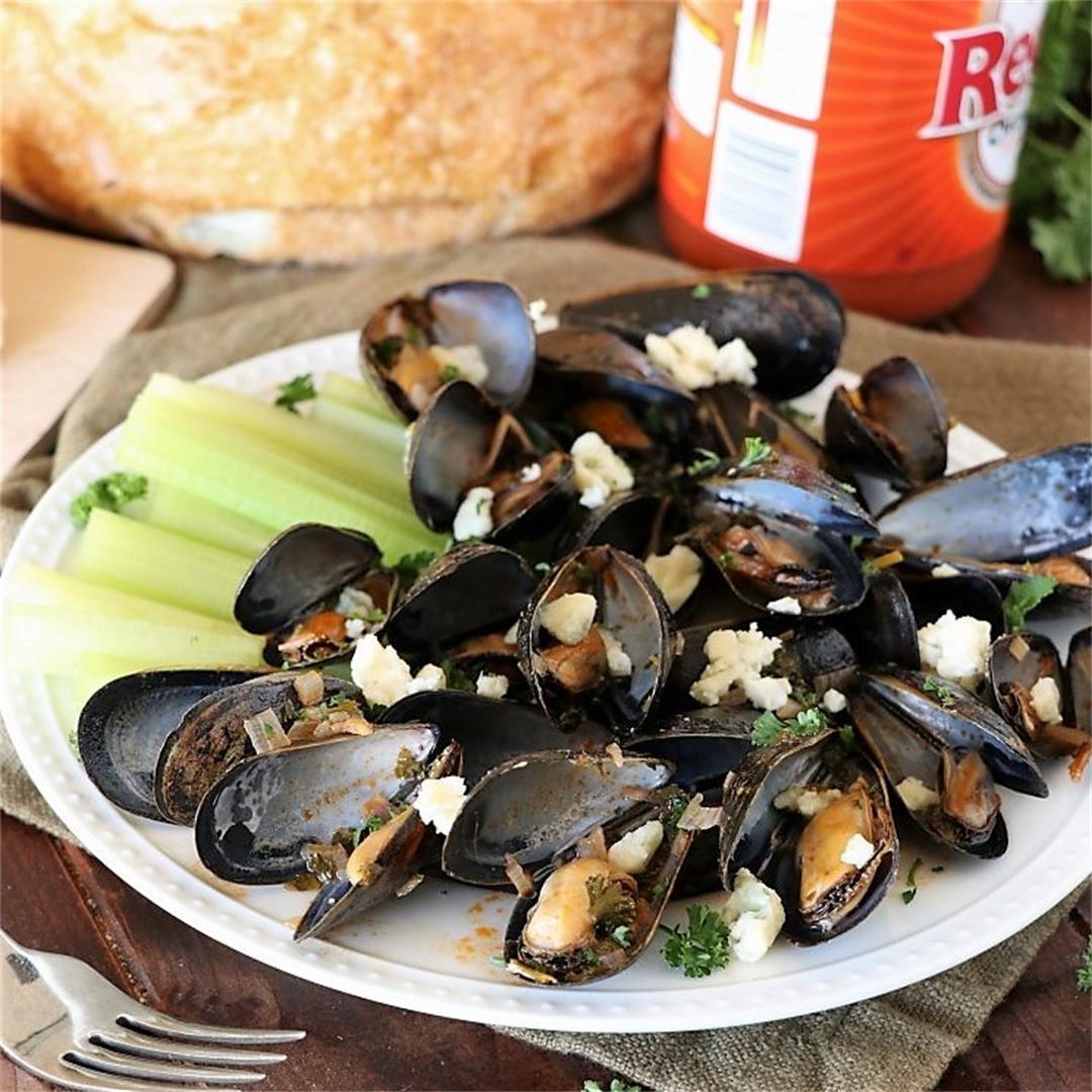 Buffalo Steamed Mussels