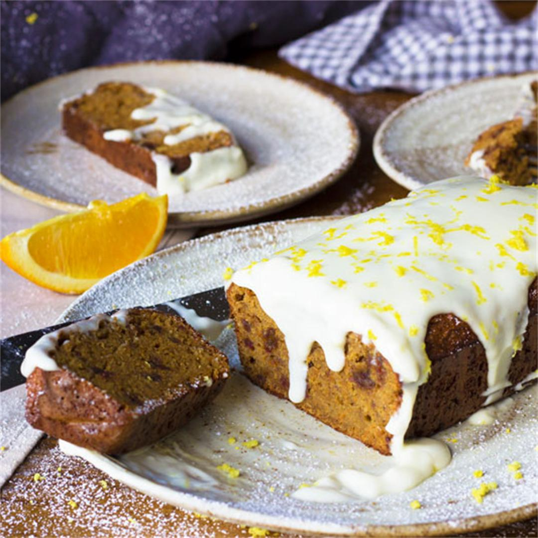 Spiced Date and Almond Carrot Cake