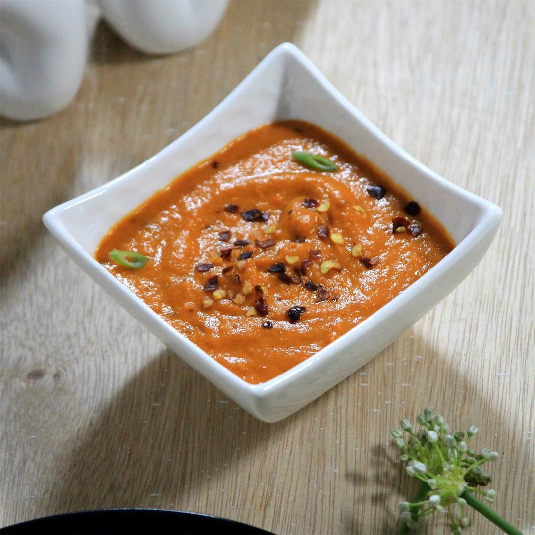 Roasted Pepper Sauce - Vegan & Gluten free