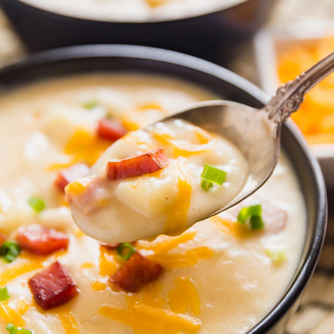 Leftover Ham and Potato Soup Recipe