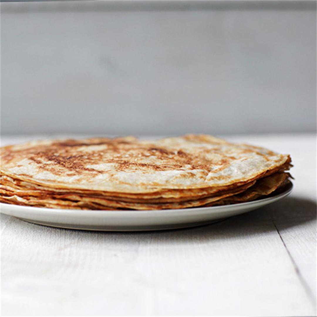 Traditional Dutch Pancakes