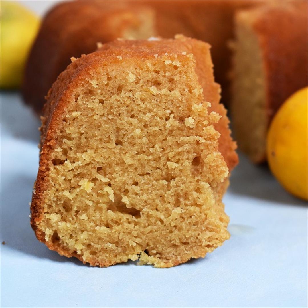 Lemon and Almond Bundt Cake