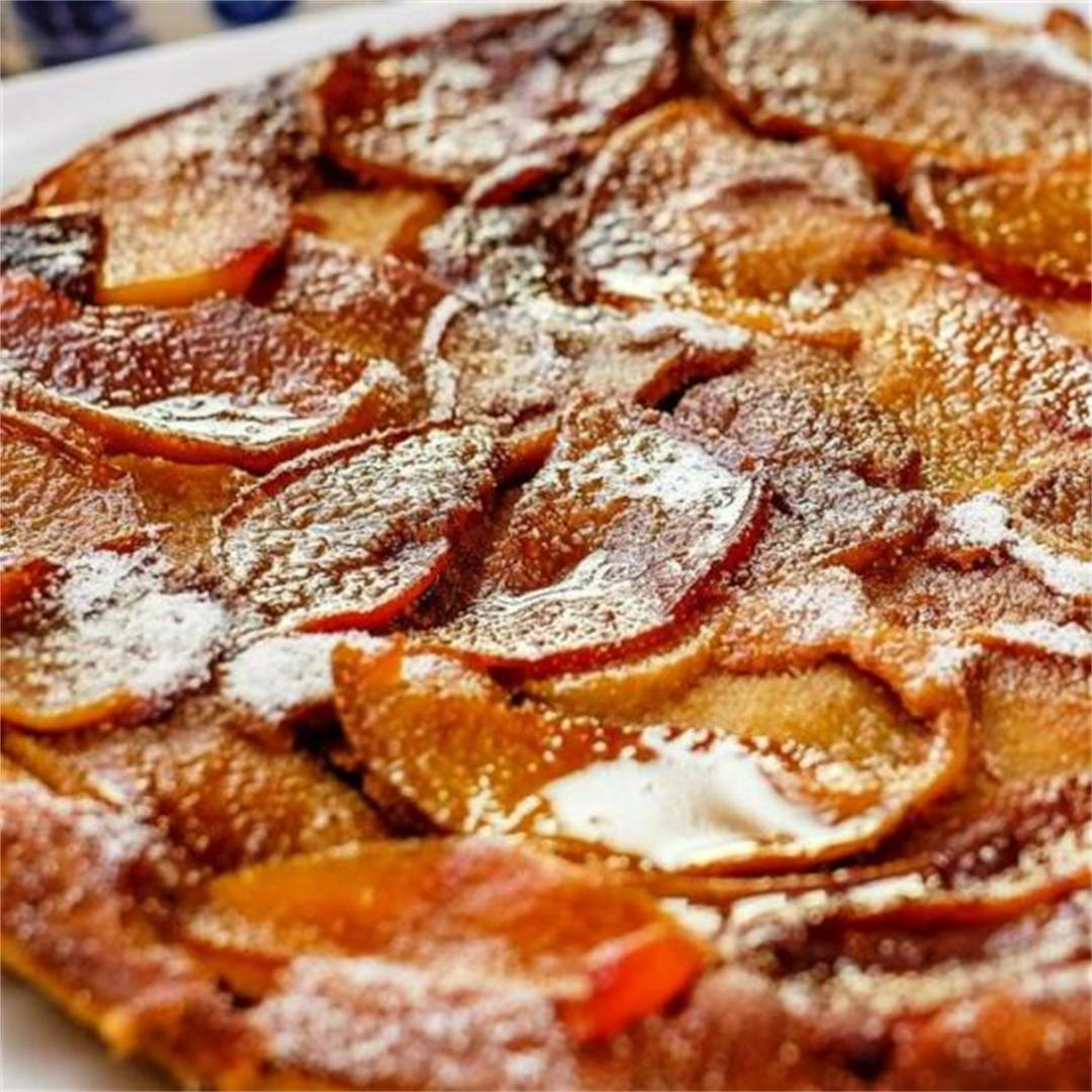 Healthier German Apple Pancake The Delicious Crescent