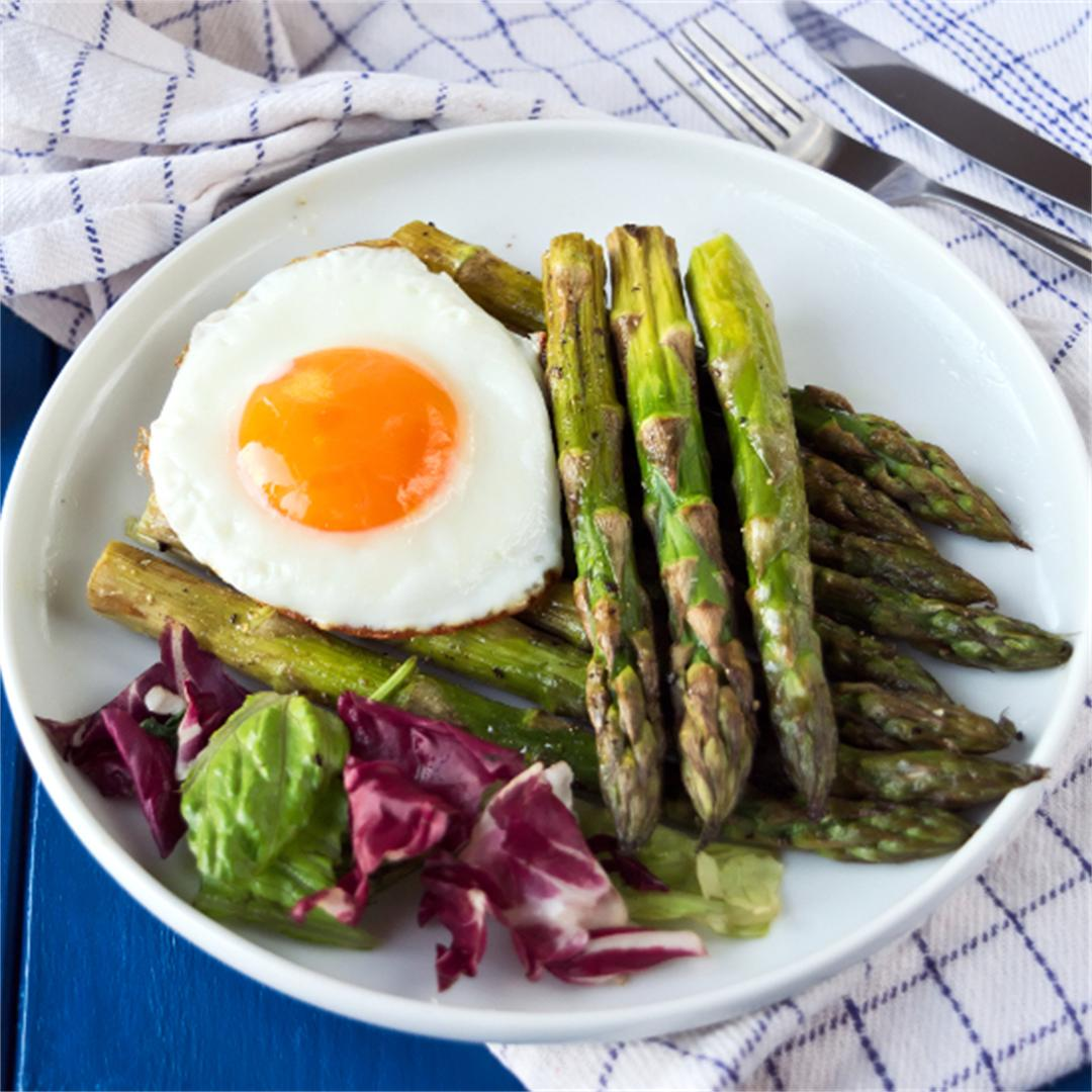 Roasted asparagus - Easter brunch