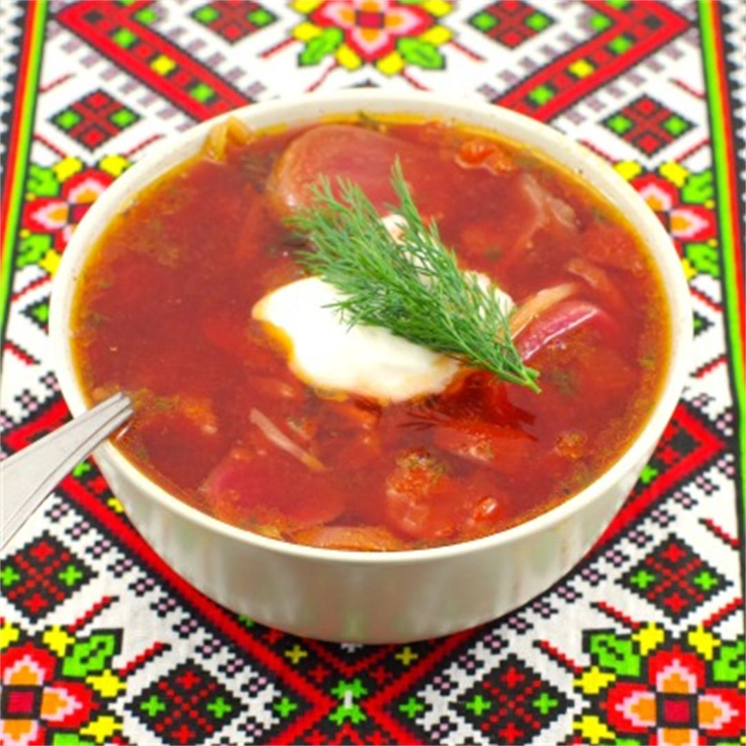 Shortcut Ukrainian Borscht