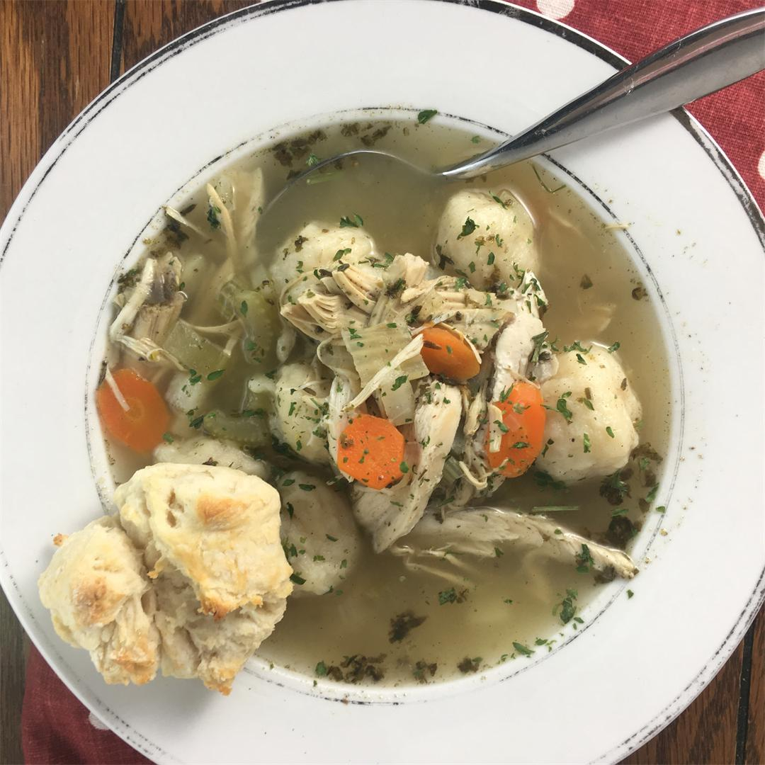 Chicken and Dumplings Stew