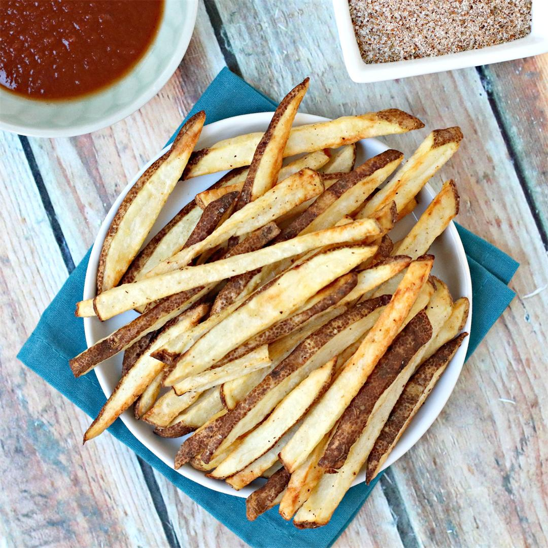 Air Fryer French Fries with Seasoned Salt