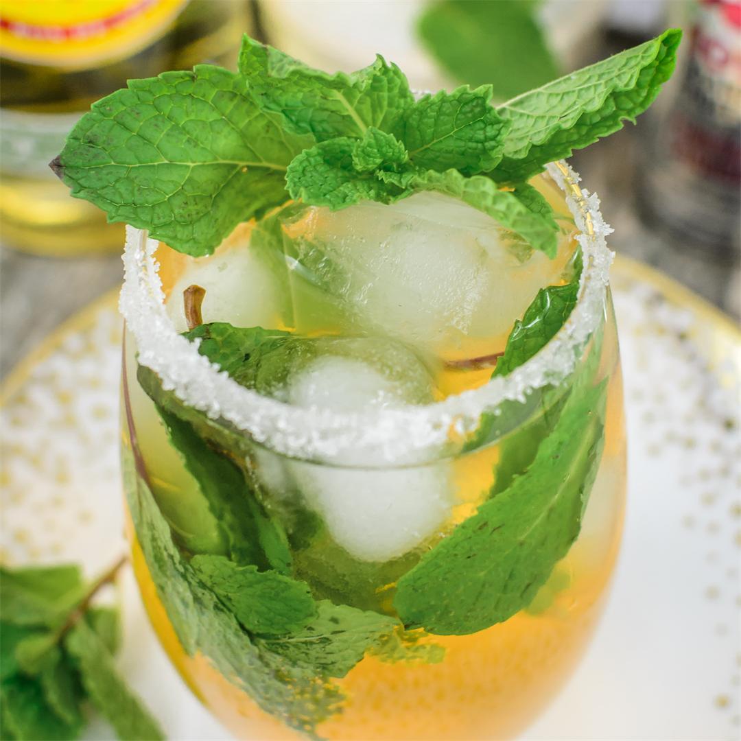 Sparkling Fruit Juice Mojitos