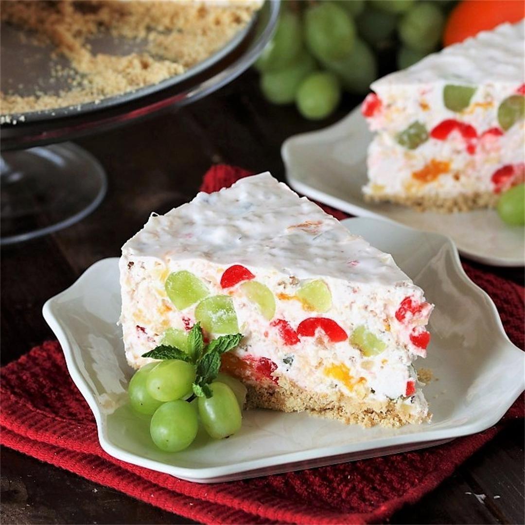 Fruit Salad Cheesecake