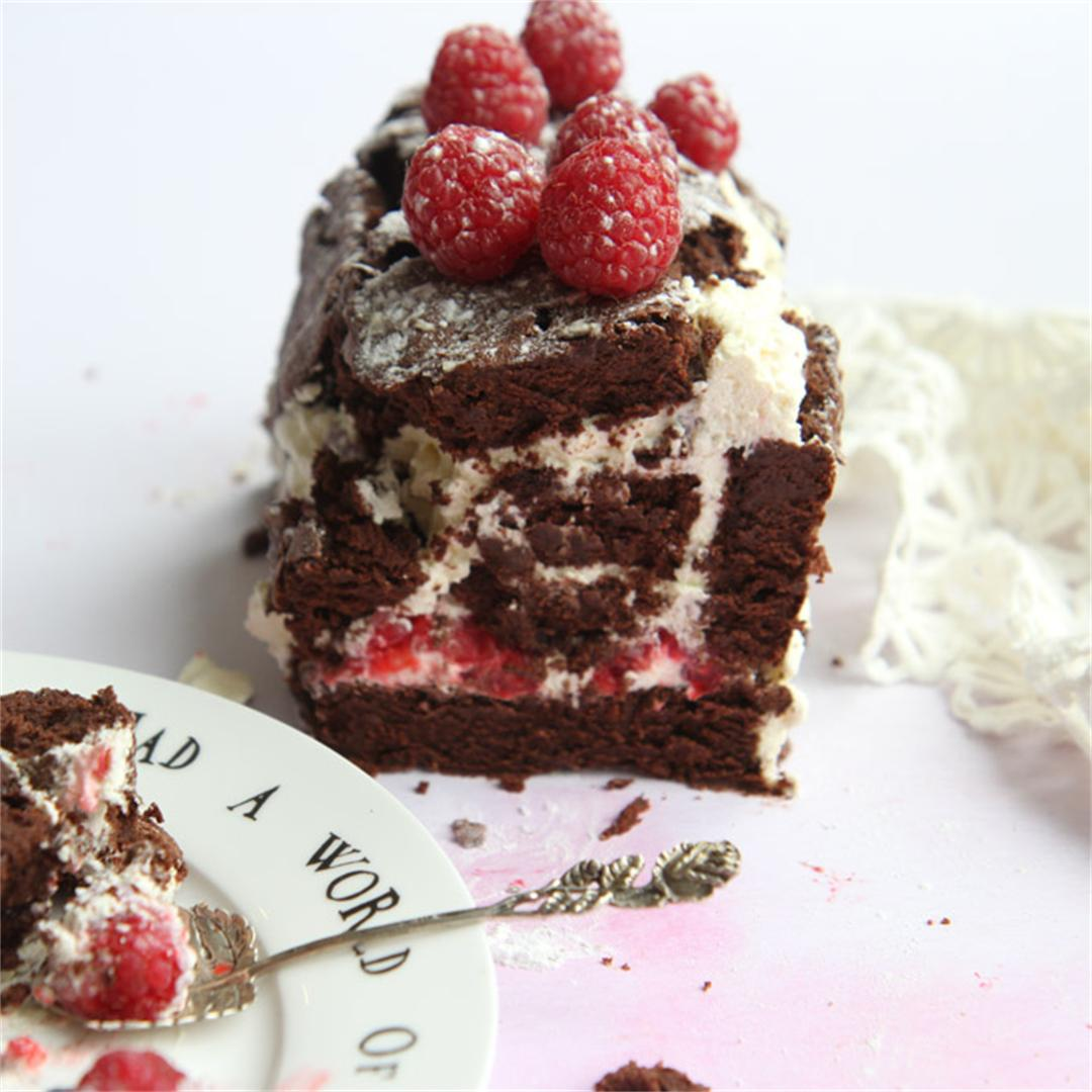 Mary Berry's classic chocolate roulade