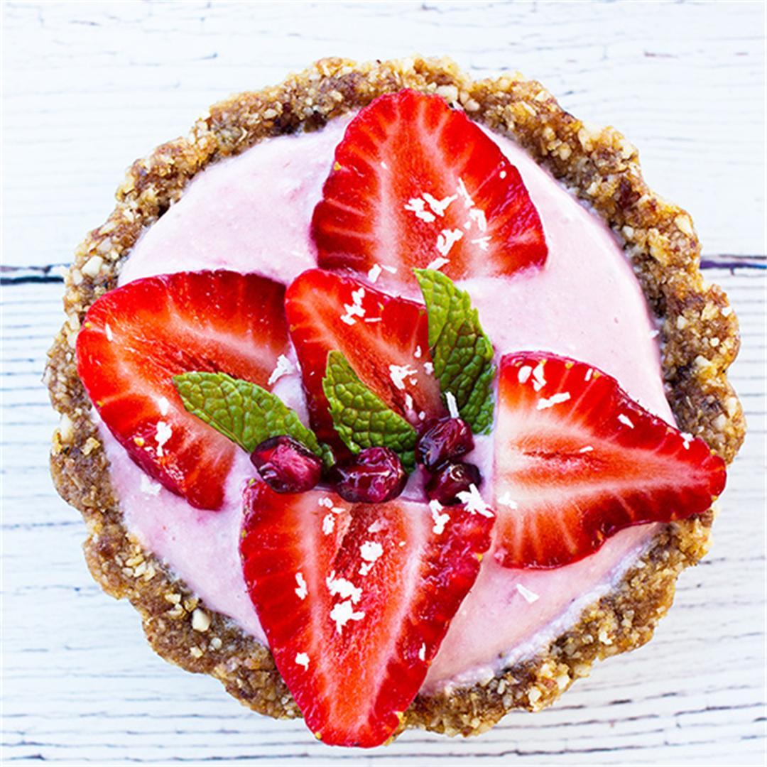 Mini Strawberry Tarts (Paleo)