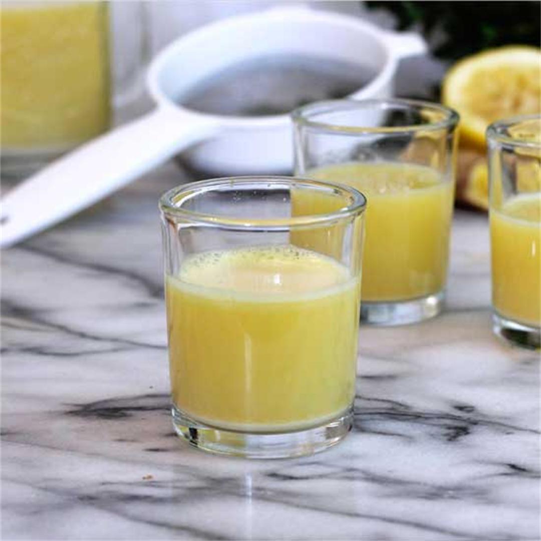 Ginger-Lemon Shots Blender Recipe